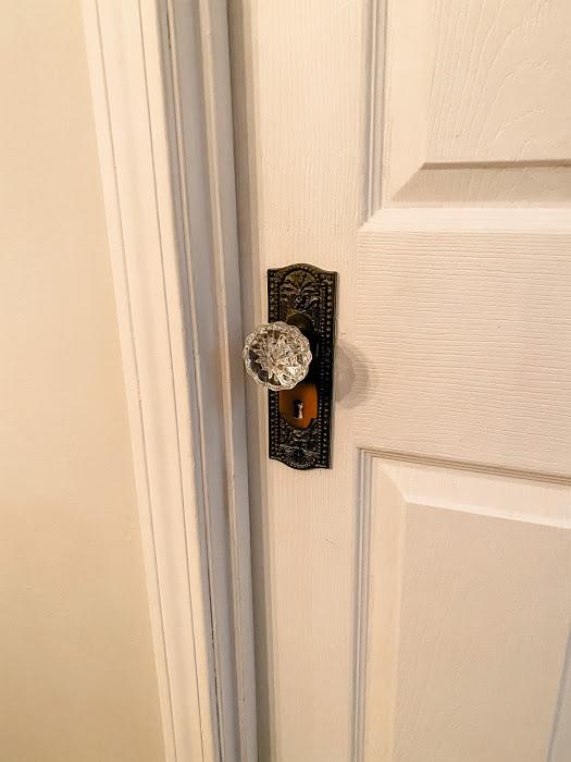 adding historic doorknobs