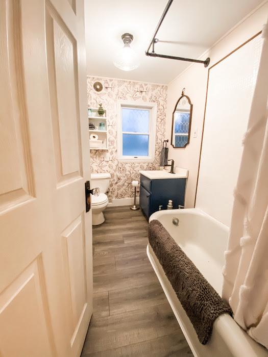 main floor bathroom makeover for under $600