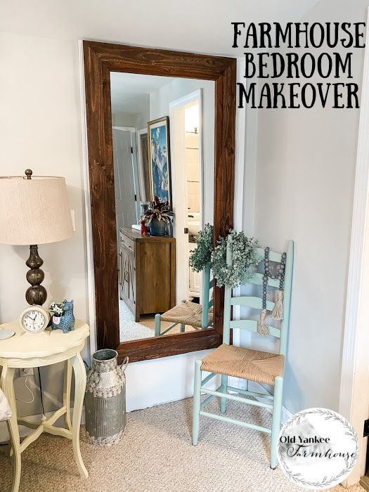 Primary Bedroom Farmhouse Makeover
