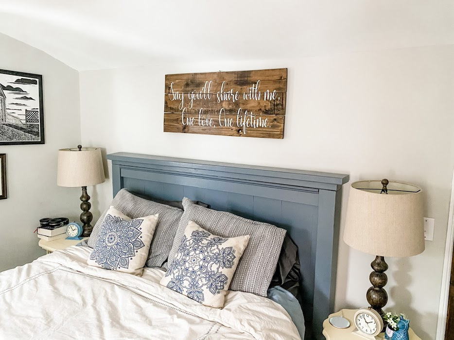 primary bedroom makeover
