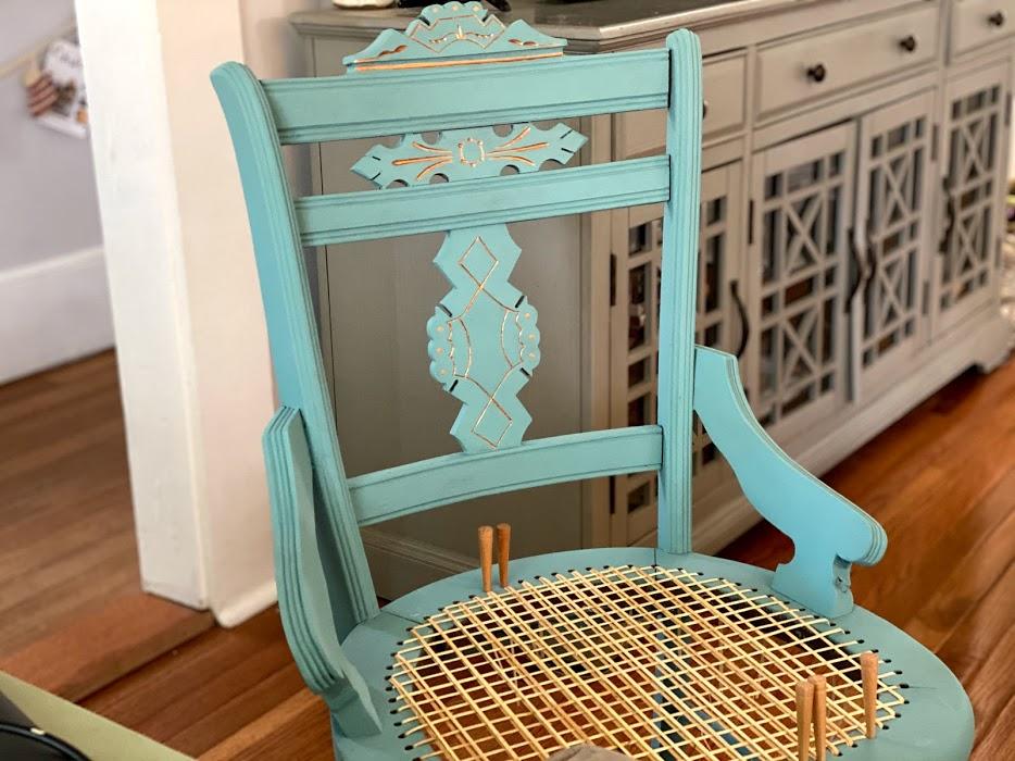 accent chair restoration