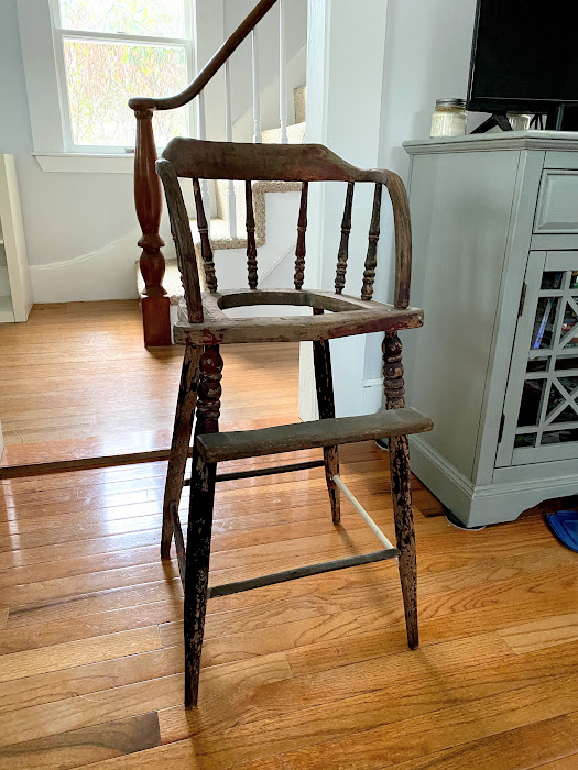 accent chair restoration