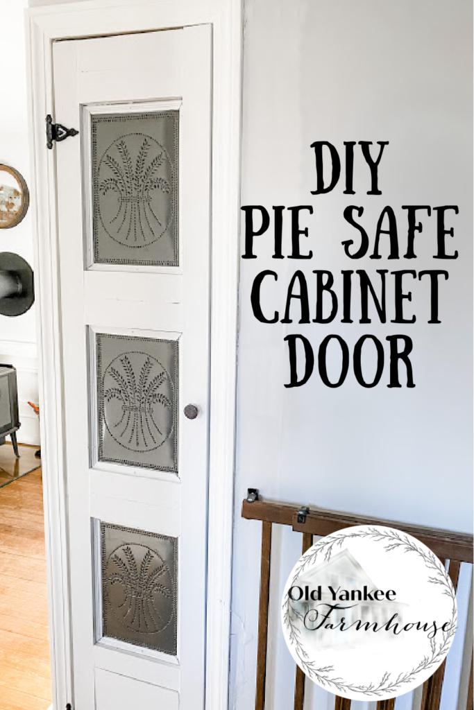 DIY Pie Safe Cabinet Door