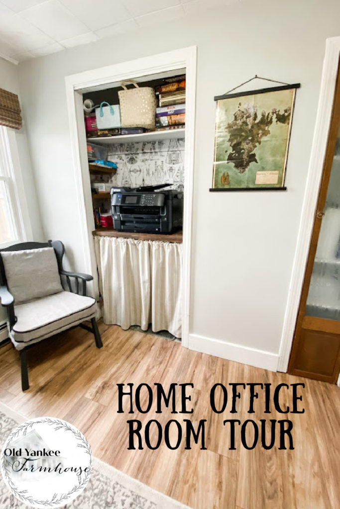 Home Office Room Tour