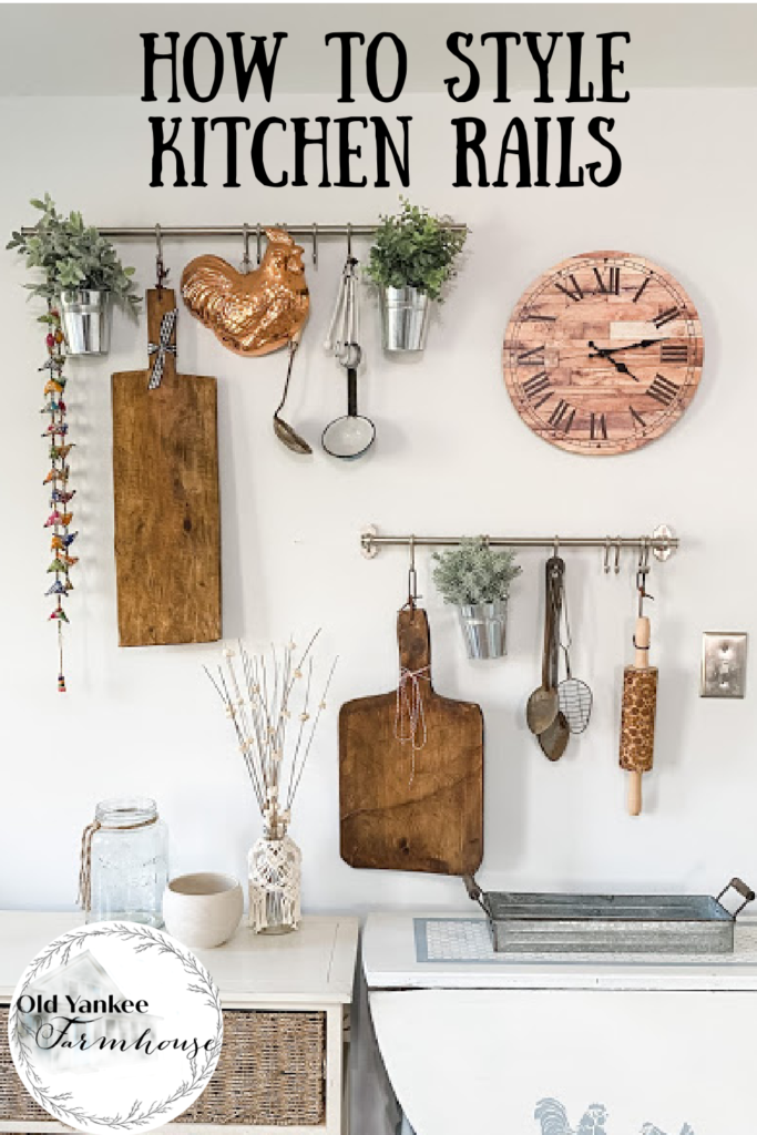 How to Style Kitchen Rails